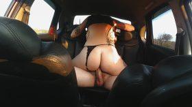 Sexo no carro com a Dread Hot