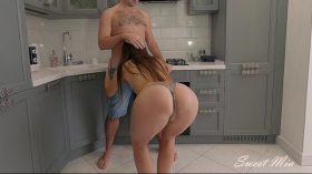 Video porno na cozinha